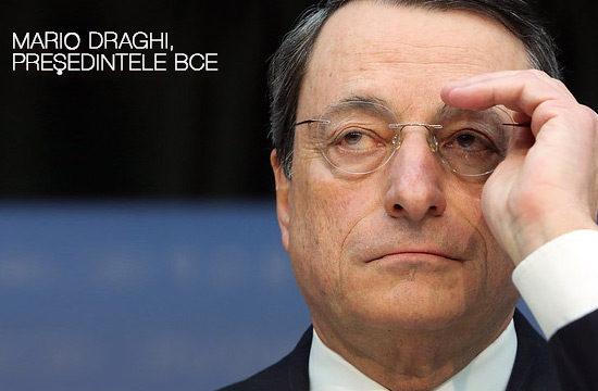 Mario Draghi a subliniat recent că o încetinire temporară a economiei zonei euro nu înseamnă în mod neapărat o recesiune importantă