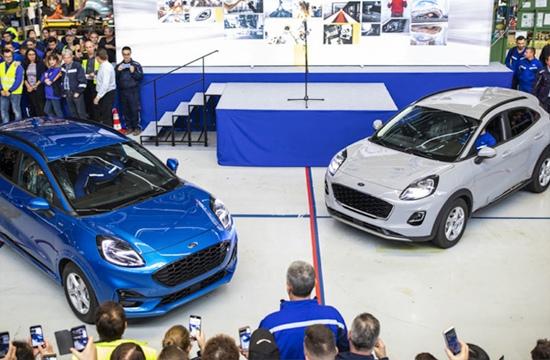 După o investiţie de 200 de milioane de euro, constructorul Ford lansează producţia noului Puma hibrid construit la uzina din Craiova