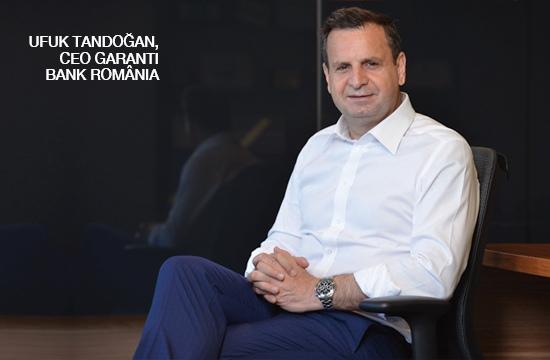 Ufuk Tandoğan, CEO Garanti Bank România