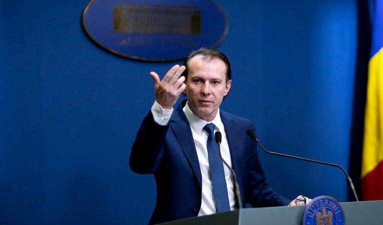 Florin Cîţu: Am ales să împrumutăm 3,3 miliarde de euro din oferta de circa 14 miliarde de euro